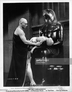 "Yul Brynner in ""The Ten Commandments"""