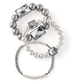Vanity Bracelet, gorgeous and versatile. Can wear together or separately. Fierce and fabulous!