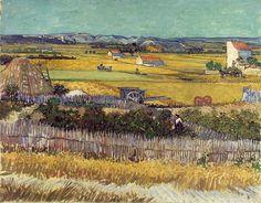 Van Gogh - la plaine de la Crau