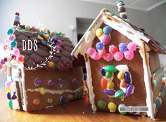 Gemmerbroodhuisies   Die Mamma Bende Gingerbread, Desserts, Food, Deserts, Dessert, Meals, Yemek, Postres, Eten