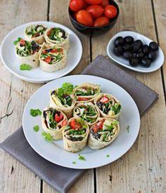 Wrap tapenade, tomates, coeurs d'artichauts