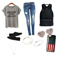 """Untitled #124"" by tayaaa12 on Polyvore featuring Vans, Givenchy, Wildfox, CellPowerCases, Monica Vinader and Roberto Coin"