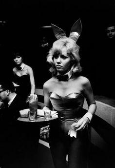 Playboy Bunny by Steve Schapiro, 1960's
