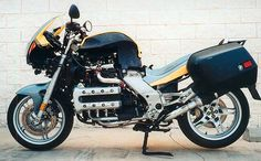 bmw k1200rs caferacer | First Generation K1200RS Turbo: After, With Bags