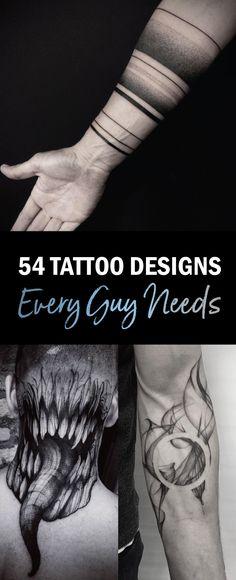 54 Tattoos Every Guy Needs