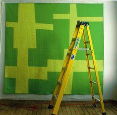 Very inspirational Modern Quilts by Denyse Schmidt Quilts.