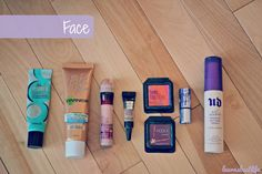 Face makeup for traveling!   laurasbestlife.com
