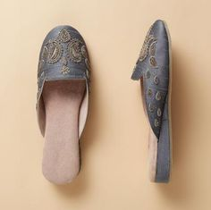 TAJ MAHAL SLIPPERS - Spring Favorites - Footwear & Bags | Robert Redford's Sundance Catalog