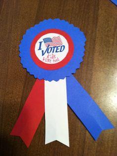 i voted badge for kids