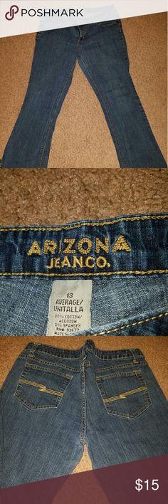 Arizona jeans Arizone jeans size 13 used/good condition Arizona Jean Company Jeans Straight Leg