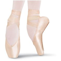 Heritage Pointe Shoe ($28) ❤ liked on Polyvore featuring shoes, flats, dance, ballet, red pointy flats, ballerina flats, ballet shoes, red pointed flats and pink flats