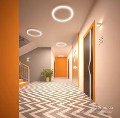 Дизайн подъезда жилого дома, Architect and design studio Domum Group, Холл/Коридор, Дизайн интерьеров Formo.ua