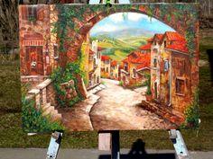 mediterrán festmény   németh zoltán