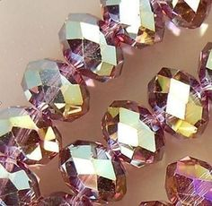 Dark Purple Wine Crystal Rondelle Beads 8mm 1 Strand 72 Beads Aurora Borealis 3802 by OverstockBeadSupply on Etsy