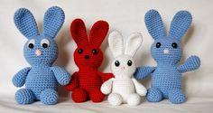 Apuuga's Amigurumi: Bunny JÄNKS...A whole family of bunnies!...free pattern!