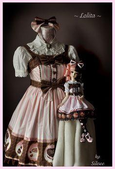 Angelic Pretty Lolita dress: Melty Chocolate