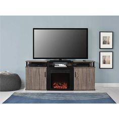 Fireplace: Brilliant Fireplace Tv Stand At Lowes from Perfect Fireplace TV Console