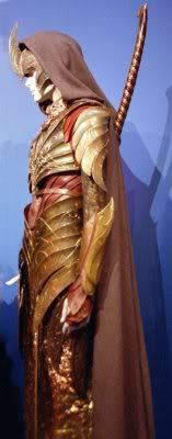 Another view of the armor of Haldir's regiment of Lothlòrien elves, from the Two Towers.
