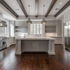 Kitchen with Open Shelving, Transitional, Kitchen