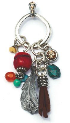 In full colour - tribal charms pendant beautiful!