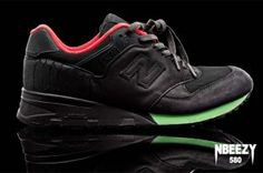big sale f5c4b a72f6 The Nike Air Yeezy Inspired This Custom New Balance 580