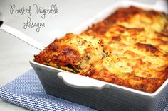 Roasted Vegetable Lasagna | Looks like a bit of work, but also looks delicious