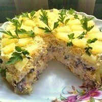 Новейший салат переплюнул шубу и оливье