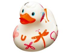 Bud Rubber Luxury Duck Bath Tub Toy, Day Dream by BUD