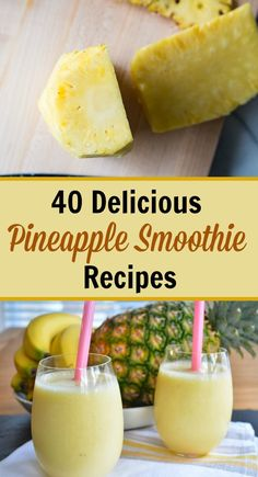 Pineapple Smoothie is a great style to get a nutrient-packed meal or snack. They tend to provide everything you want, which includes healthy fats, proteins, vegetables, and fruits, even if you're in a rush. You can load them up with nutrient dense foods and supplements to help boost your immune system or to provide you