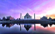 Taj Mahal um tributo ao Amor - Bilhete de Viagem