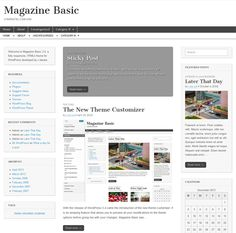 This free responsive WordPress magazine theme has a minimal design, support for 8 post formats, a Bootstrap based framework, Google Fonts integration, easy background and layout customisation, a jQuery carousel, BuddyPress and bbPress compatibility, and more.