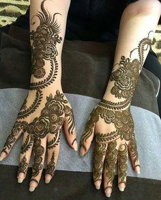 Beautiful Hartalika Teej Mehndi Designs