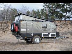 Eco Trailer, Small Camper Trailers, Off Road Camper Trailer, Best Trailers, Trailer Build, Camper Caravan, Teardrop Trailer, Overland Truck, Overland Trailer