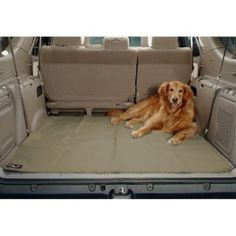 Solvit 62316 Waterproof SUV Cargo Liner I need this for summer trips to the lake and camping!