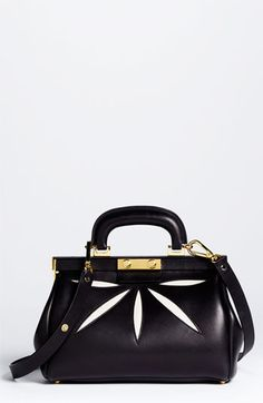 Marni 'Mini' Leather Frame Bag