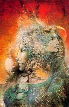 Susan Seddon Boulet - Goddess « Minerva » - 1990 Minerve, la divinité romaine de la guerre et de la sagesse, était à l'origine la déesse étrusque de l'aube. Elle était vénérée en tant que déesse de la raison, car la lumière du jour naissant est un emblème de la connaissance.