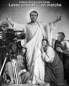 Macron mange partout