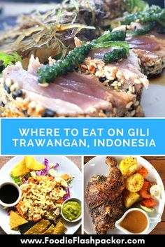 Wondering where to eat in Gili Trawangan, Indonesia? Check out this list of the best restaurants in Gili Trawangan - they were all tried and tested, and I can assure you won't be disappointed! One more reasons to travel to the Gili islands, just a short way from both Bali and Lombok. | Gili Trawangan restaurants | Gili Trawangan where to eat | Gili Trawangan food restaurant | Gili Trawangan things to do #gilitrawangan - via @foodieflashpack