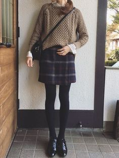 Source by SoBooked Winter fashion Korean Winter Outfits, Fall Outfits, Casual Outfits, Japanese Winter Fashion, Autumn Fashion, Ulzzang Fashion, Korean Fashion, Japan Outfit Winter, Cute Fashion