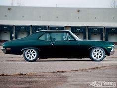 Chevrolet Nova 1971 Dark Highland Green Metallic