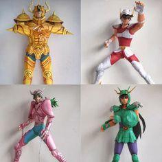 Saint Seiya Paper Models