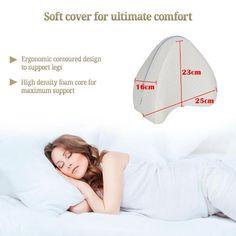 Sale Orthopedic Pillow, Knee Pillow, Pressure Points, Sciatica, Body Heat, Back Pain, Mens Fitness, Contour, Memory Foam