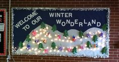 This was my winter bulletin board, which if I do say so myself, is extremely creative and adorable. My bulletin board is the first thing ...