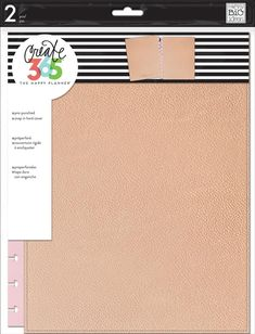 Create 365 The Big Happy Planner Snap-in Hard Cover by MAMBI Rose Gold 2018 for sale online Happy Planner Punch, Happy Planner Cover, Mini Happy Planner, Planner Covers, Create 365, Life Planner, Planner Ideas, Planner Stickers, Happy Life