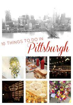 Road Trip: 10 Things to Do in Pittsburgh, Pennsylvania. Weekend Trips, Day Trips, Weekend Getaways, Dream Vacations, Vacation Spots, Vacation Ideas, Vacation Destinations, Visit Pittsburgh, Pittsburgh Attractions