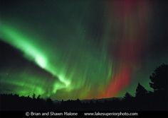 Northern Lights, Upper Peninsula - Michigan