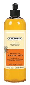 Caldrea Mandarin Vetiver Dish Soap Liquid is rich, concentrated and fragrant - one of our star performers. We added Soap Bark Extract, one of nature's best degreasers, to tackle nasty pots and pans. Just a squirt or two in a sink full of warm water cuts grease and keeps dishes clean and bright. Rinses completely#liveconsciously i need this product