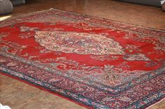 """J1063-61065-4200 Kerman rugs - This Traditional  rug is approximately 9'0""""x12'0"""" in size and made of  Wool . This Kerman  rug weave is Hand Knotted  and made in Persian . This Kerman  rug is Rectangular  in shape and Red,  Purple in color."""
