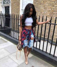 ff53ca3bc538 25 Of The Most Adorable Black Girl Swag Outfits 2018