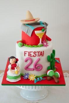 Fiesta Mexicana - María Andrée Couture Cakes